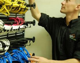 agilisIT engineers troubleshooting networking